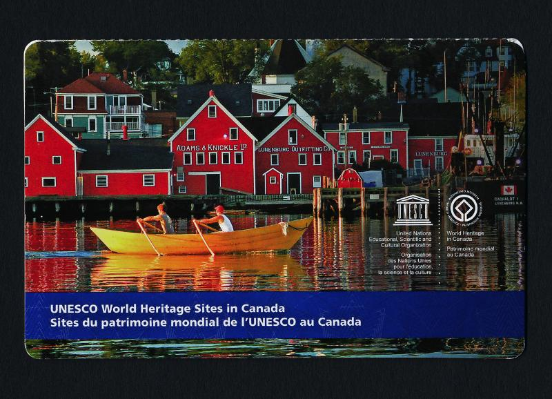 Canada 2742a Booklet MNH UNESCO World Heritage Sites, Lunenburg