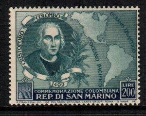 San Marino  319  MNH $ 80.00