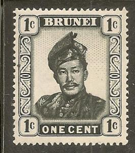 Brunei    Scott 83    Sultan    Unused