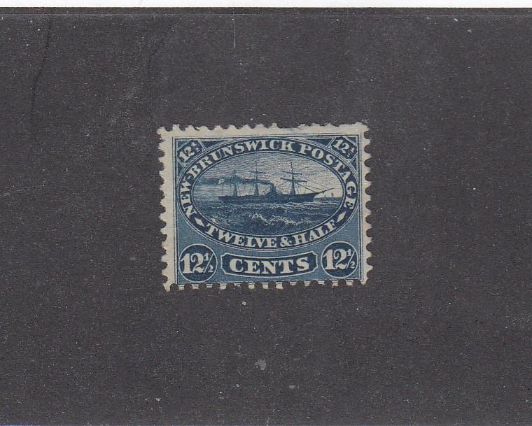 NEW BRUNSWICK LOT KK(989)# 10 FINE-MNG UNUSED 12.5cts STEAMSHIP CAT VALUE $60