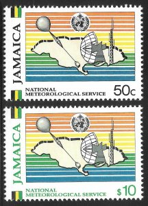 [7297]   Jamaica # 746 - 47 Mint Never Hinged
