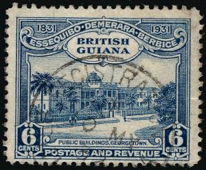 British Guiana  #208 Used Fine hr ...Fill a British Colony spot!