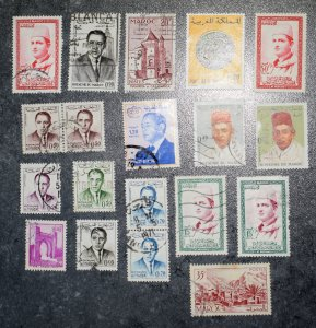 MOROCCO  FRANCE   Stamps stock page 3A     ~~L@@K~~