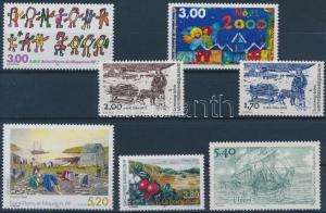 St. Pierre and Miquelon stamp 7 diff stamps MNH 2000 WS198264