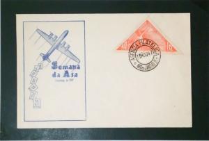 Brazil 1947 Samana Da Asa Semi / Airmail FDC - Z3575