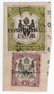 (I.B) Rhodesia/British Central Africa Revenue : Consular 11/-
