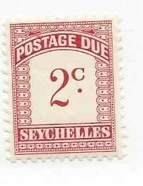 Seychelles #J1  (MLH)  CV $1.50