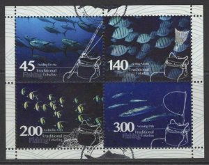 TOKELAU ISLANDS SGMS486 2015 FISHING USED