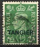 Great Britain - Morocco - Tangier 1937: Sc. # 515 O/Used Single Stamp