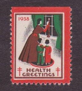 Christmas Seal from 1938 NG Single