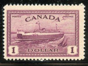 Canada # 273, Mint Never Hinge. CV $ 45.00