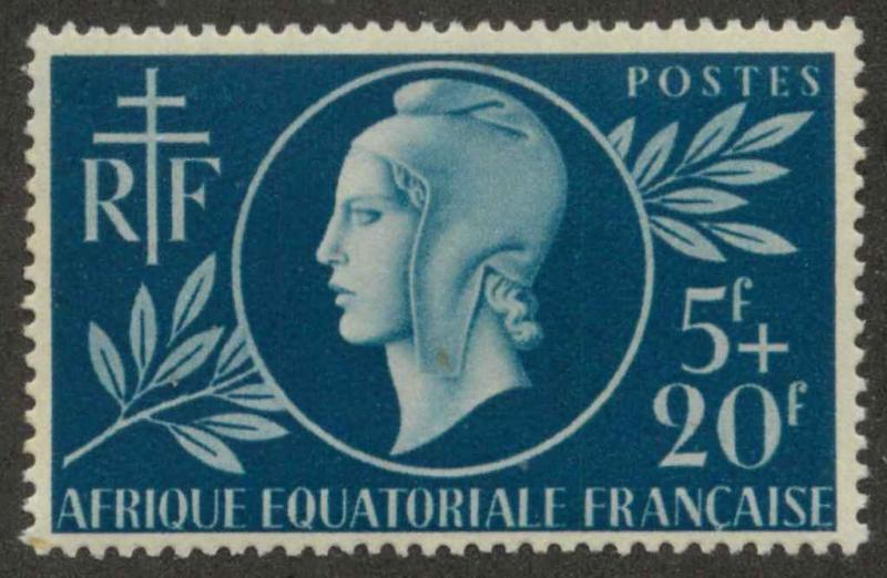 French Equatorial Africa B38 Mint VF H