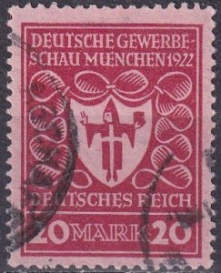 Germany #217  F-VF Used CV $13.00 (S10434)