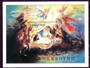 Lesotho 1980: Sc. # 318; O/Used Souvenir Sheet