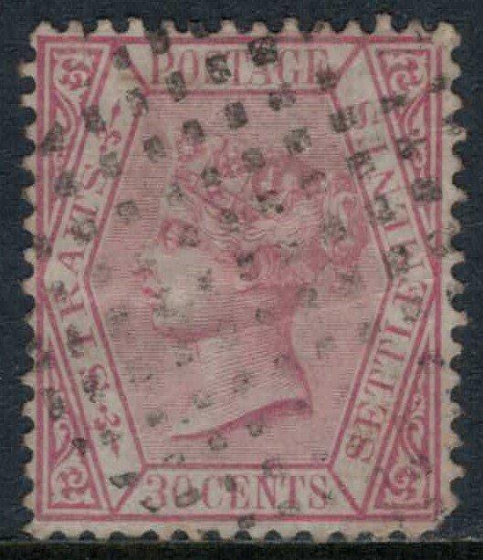 Straits Settlements #16  CV $17.50