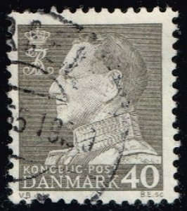 Denmark #388 King Frederik IX; Used (0.25) (3Stars)