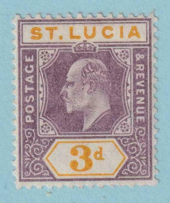 ST LUCIA 47  MINT HINGED OG * NO FAULTS VERY FINE!