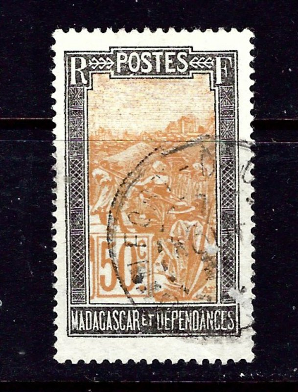 Malagasy 104 Used 1925 issue