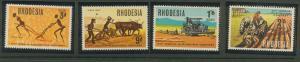 Rhodesia SG 422 - 425  MUH