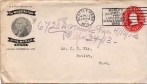 United States Washington Seattle, Wash. 1913 International Machine Type World...