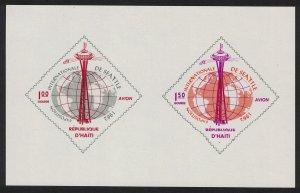 Haiti 'Century 21' World Fair Seattle MS SG#MS842