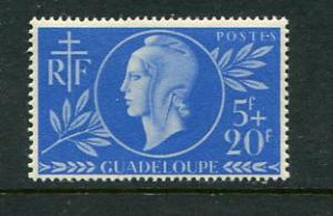 Guadeloupe #B3 Mint