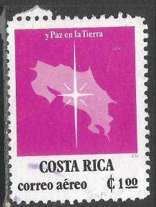 COSTA RICA C730 VFU MAP N820