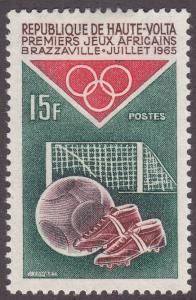 Burkina Faso 141 1st African Games, Brazzaville 1965