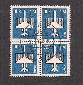 GERMANY - DDR SC# C14 F-VF U 1982 Blk-4