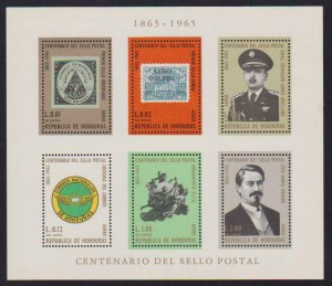 Honduras Airmail # C403a Stamp Centenary VF OG NH Perforated S/S -I Combine S/H