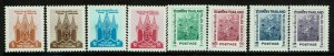 Thailand SC# 373-380, Mint Never Hinged - S13278