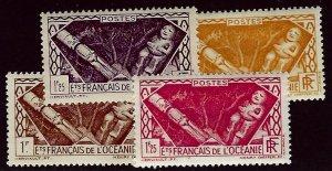 French Polynesia SCV#103-106 Mint VF...Worth a Close Look!