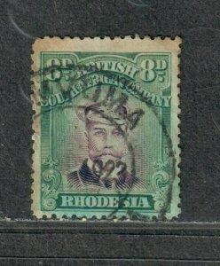 Rhodesia Sc#128 Used/F-VF, Toned, Cv. $82.50