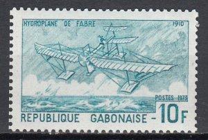 Gabon, Sc 316, MNH, 1973, Fabre's Hydravion