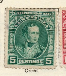 Venezuela 1904-09 Early Issue Fine Mint Hinged 5c. NW-114538