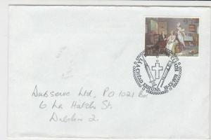 eire ireland 1978 holy cross needle paintbrush stamps cover ref 20326