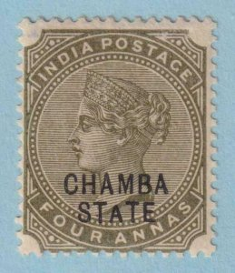 INDIA - CHAMBA STATE 7  MINT HINGED OG * NO FAULTS EXTRA FINE!