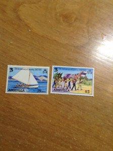 Anguilla  # 504-05  MNH  (2/4)