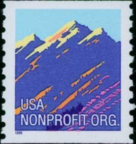 2904 Mountain F-VF MNH coil single