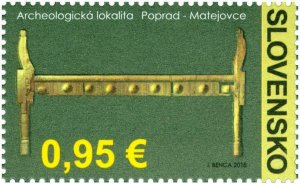 SLOVAKIA / 2018, Beauties of Our Homeland: The Archaeological Area, MNH