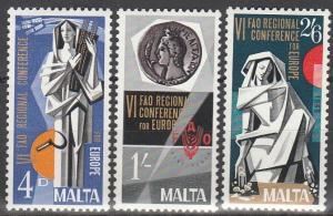 Malta #394-6  MNH VF (V2932L)