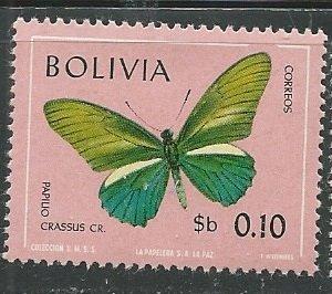 Bolivia || Scott # 522 - MH