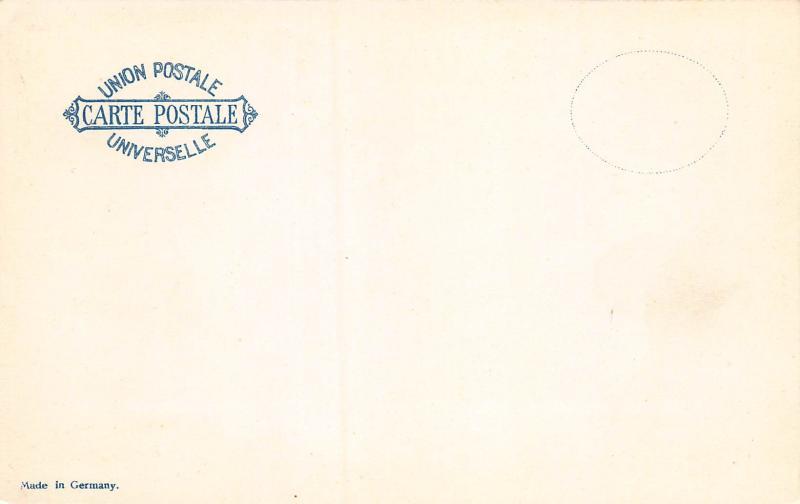 Japan, Stamp Postcard, #85, Published by Ottmar Zieher, Circa 1905-10, Unused