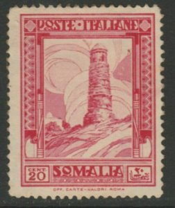 Somalia 1935-38 20c Perf. 14 MNG Italia Colonie Italy Colony A18P13F186