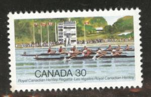 Canada Scott 968 MNH** Royal Canadian Henley Regatta stamp