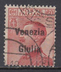Italy - Venezia Giulia - Sass. 28 used cv 420$