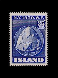 ICELAND 214 MNH