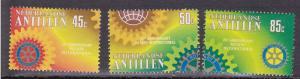 Netherlands Antilles # 449-451, Mint Light Hinged