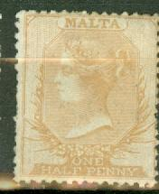 Malta 1 unused no gum CV $900