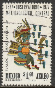MEXICO C540, Centenary of the Nat Meteorological Observatory Used (899)